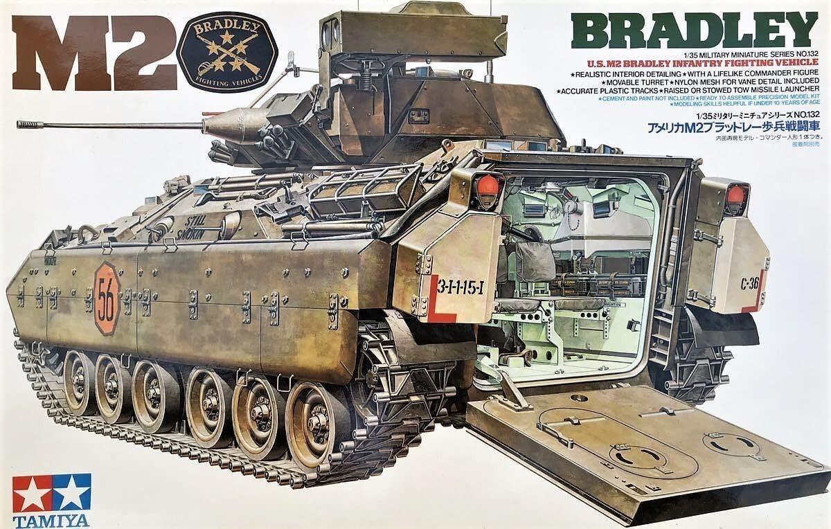 Tamiya 1:35 US M2 Bradley IFV Plastic Model Kit