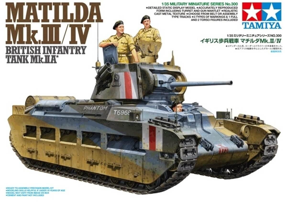 Tamiya 1/35 Matilda Mk.III/IV Plastic Model Kit