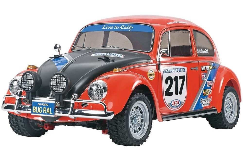 Tamiya Volkswagen Beetle Rally MF-01X Kit 58650