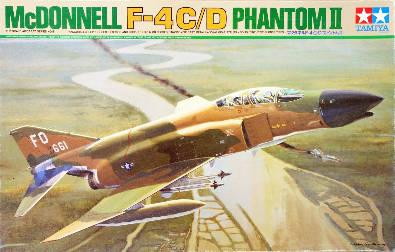 Tamiya 1/32 McDonnell F-4 C/D Phantom Model Kit
