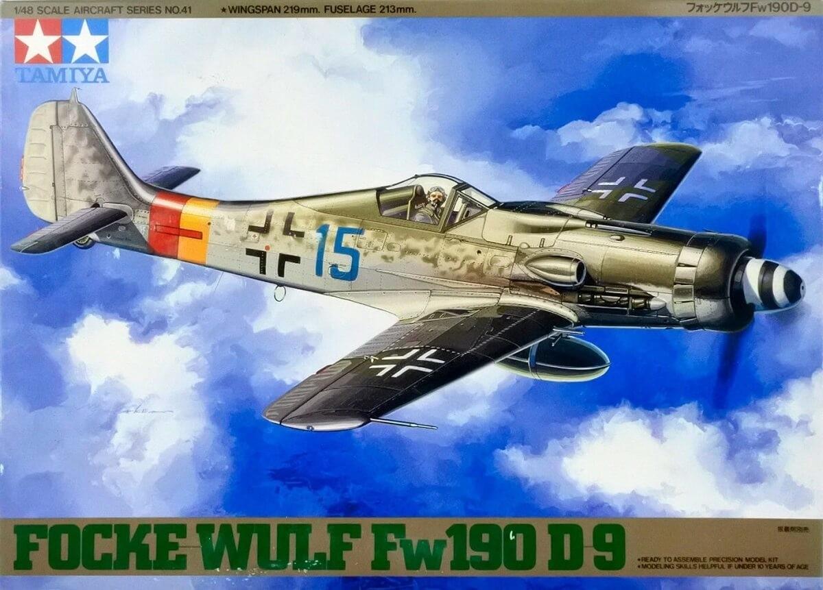 Tamiya 1:48 Focke Wulf FW190 D9 Plastic Model Kit