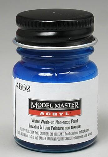 Testors Gloss Dark Blue 1/2 oz Acrylic Paint
