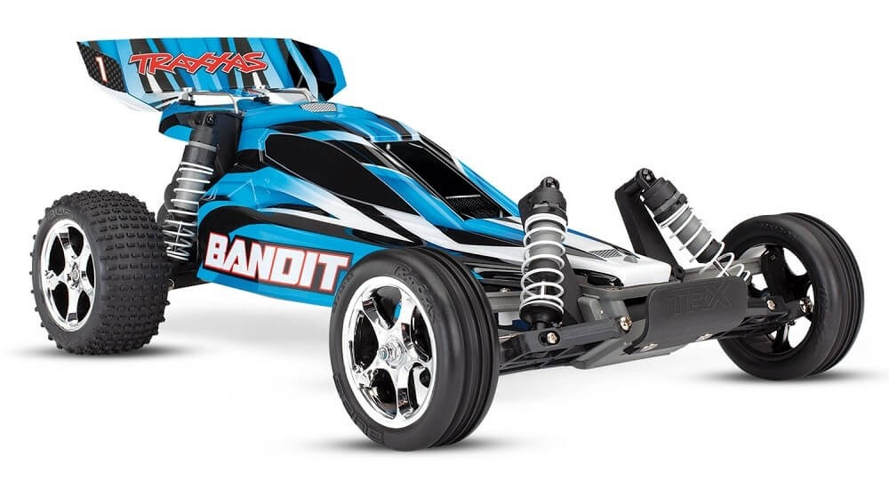 Traxxas Bandit Brushed 1/10 Buggy RTR Blue