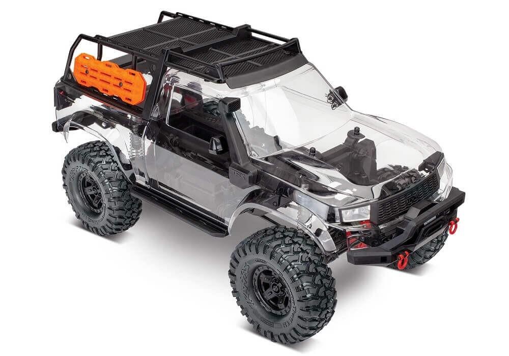 traxxas trx-4 sport 1/10 scale crawler assembly kit 82010-4