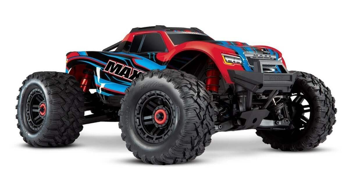 Traxxas MAXX 4S 1/10 4wd Brushless Truck Red-X
