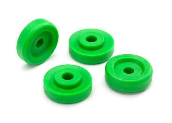 Traxxas Maxx Green Wheel Washers (4)