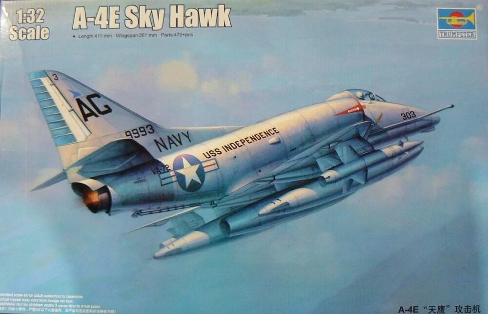 Trumpeter 1/32 A-4E Skyhawk Plastic Model Kit