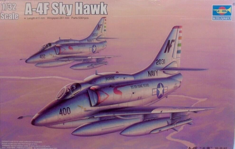 Trumpeter 1/32 A-4F Skyhawk Plastic Model Kit