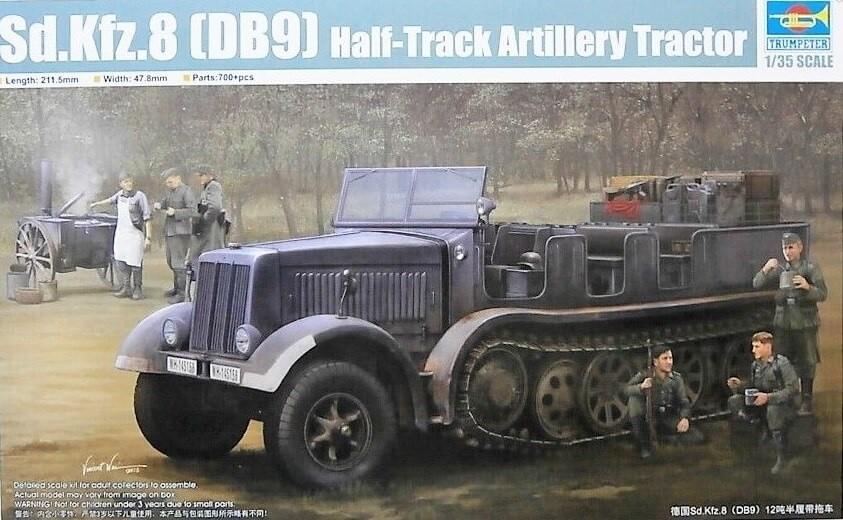 Trumpeter 1:35 SdKfz (DB9) Halftrack Artillery Truck Plastic Model Kit