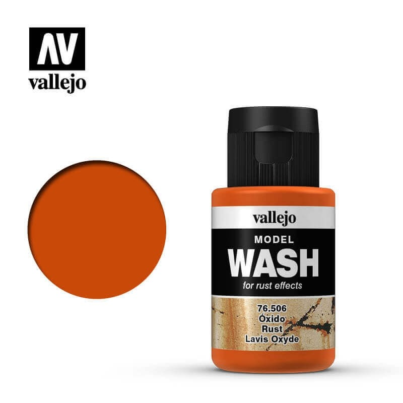 Vallejo 35ml Rust Model Wash
