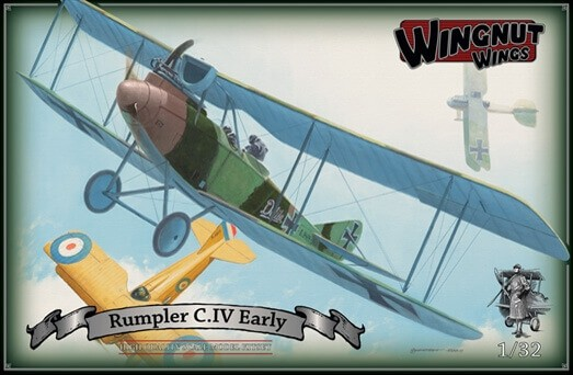 Wingnut Wings 1/32 Rumpler C.IV Early Plastic Model Kit