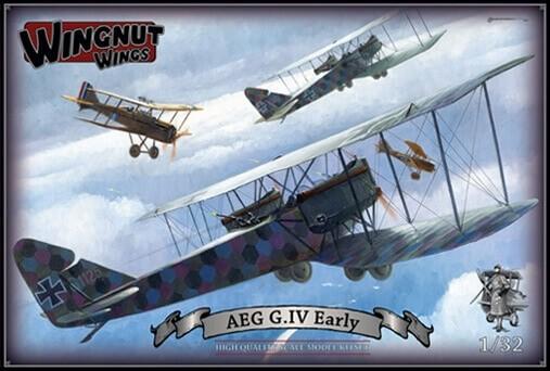 Wingnut Wings 1/32 AEG G.IV Early Plastic Model Kit