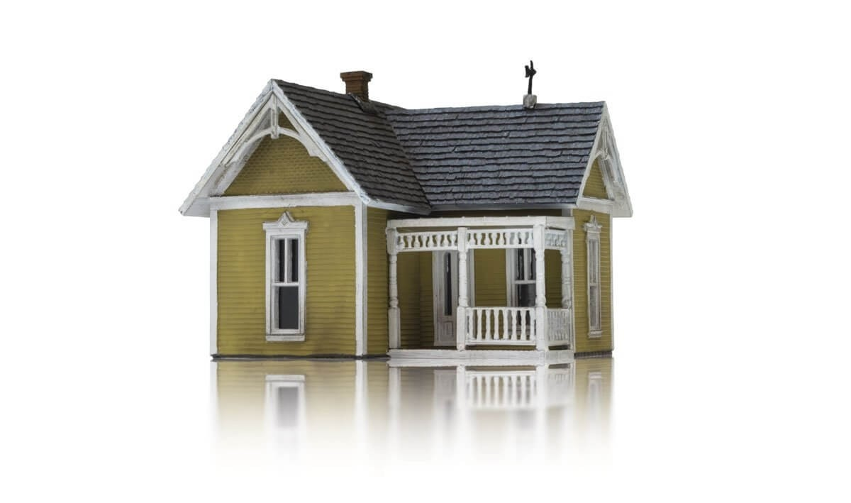 Woodland Scenics HO Scale DPM Victorian Cottage Kit