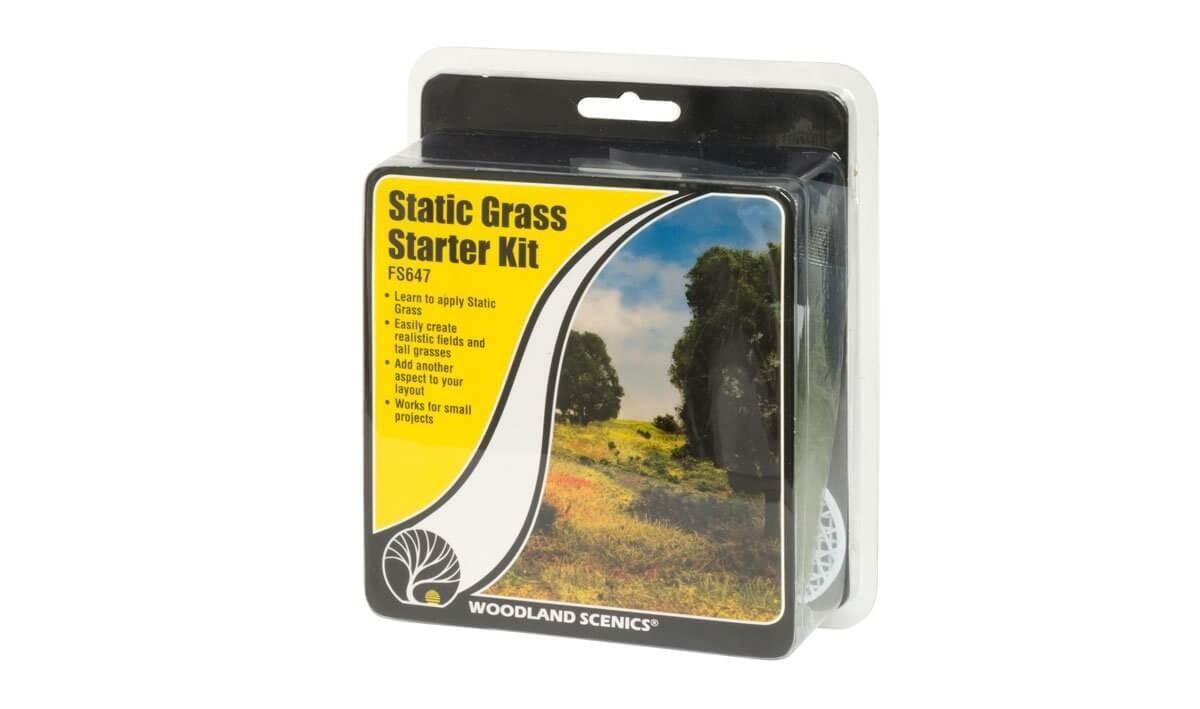 Woodland Scenics Static Grass Starter Kit