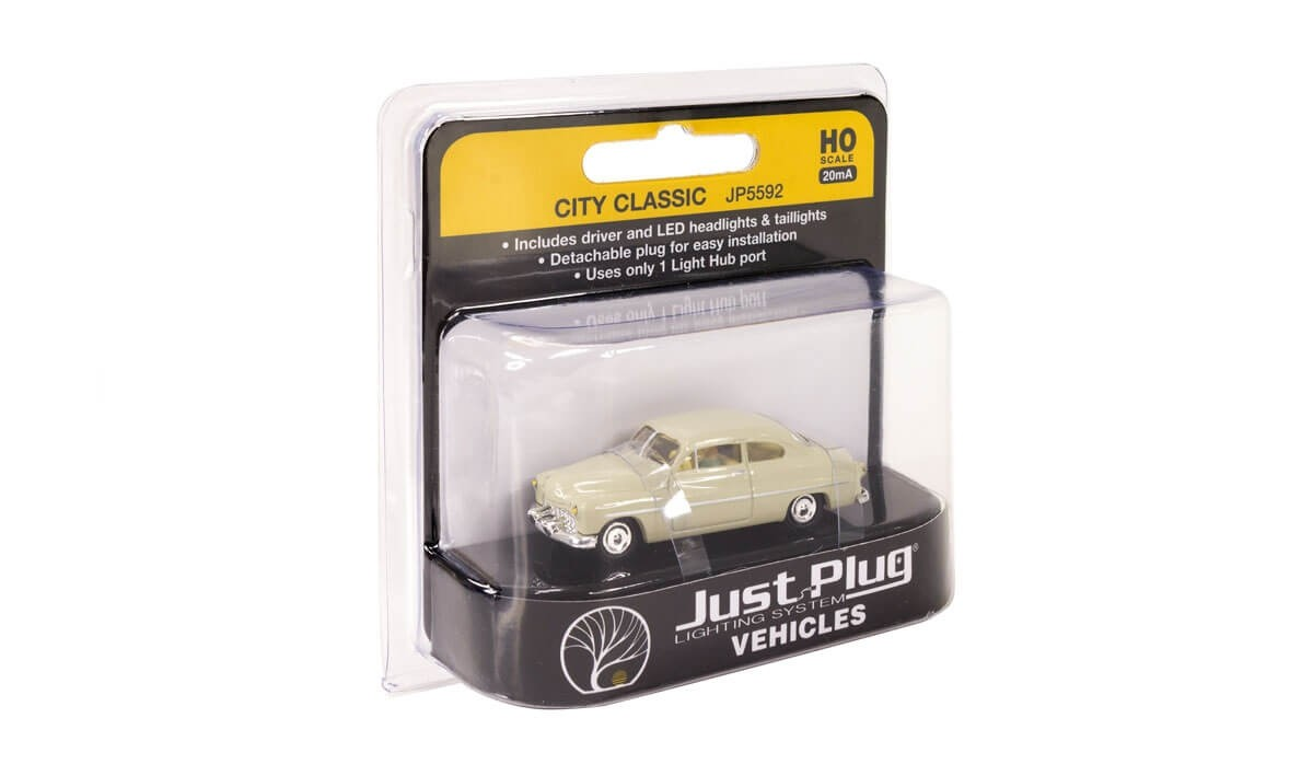 Woodland Scenics Just Plug® HO Scale City Classic Lighted Vehicle