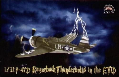 Zotz 1:32 P47D Razorback Thunderbolt Model Decals