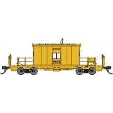 Bluford Shops N Scale Transfer Caboose Frisco Yellow #1326