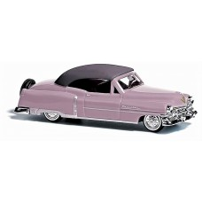 Busch 1952 Cadillac Top Up Rose Model Car