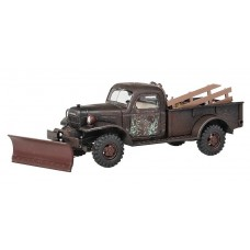 Busch HO 1945-68 Dodge 4x4 Pickup w/ Equipment Model Car
