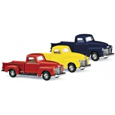 Busch HO 1950 Chevrolet Pickup Truck Yellow Model Car