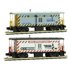 Micro Trains Line Steel Bay Window Caboose CSX