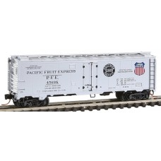 Pacific Fruit Express 40' Steel Ice Reefer w/Preco Fans Rd #45698