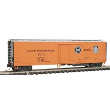 Pacific Fruit Express 51' 3-3/4 Riveted Side Mechanical Reefer Rd #300217
