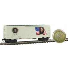 Woodrow Wilson 1913-1921 Presidential Series 40' Standard Plug Door Boxcar