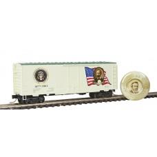 Rutherford B. Hayes 1877-1881 Presidential Series 40' Standard Plug Door Boxcar