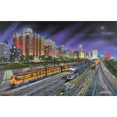 Sunsout Inc. Chicago Nights 1000pc Puzzle