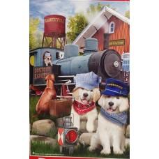 Sunsout Inc. Dogtown Express Puzzle 300pc Puzzle