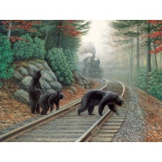 Sunsout Inc. Bear Tracks 500pc Puzzle