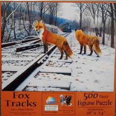 Sunsout Inc.Fox Tracks Puzzle 500pcs