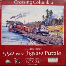 Sunsout Inc. Crossing Columbia 550pc Puzzle