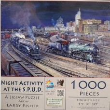 Sunsout Inc. Night Activity at the S.P.U.D. 1000 pc Puzzle