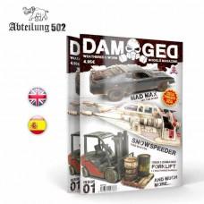 Abteilung 502 Damaged Weathered & Worn Models Issue 1 Book