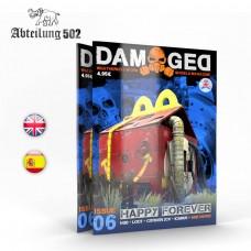 Abteilung 502 Damaged Weathered & Worn Models Magazine Issue 6 Book
