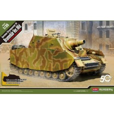 Academy 1:35 Strumpanzer IV Brummbar Ver. Mid Plastic Model Kit