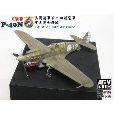 AFV Club 1/144 P-40N CACW Plastic Model Kit