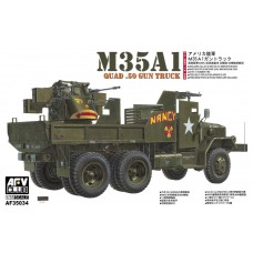 AFV Club 1/35 US Army M35A1 Quad.50 Vietnam Plastic Model Kit