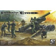 "AFV Club 1/35 8"" Howitzer M1 WWII Plastic Model Kit"