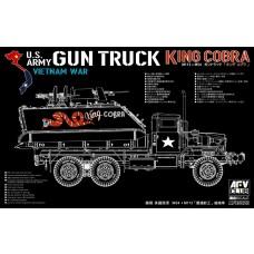 AFV Club 1/35 M113 + M54A2 Gun Truck Plastic Model Kit