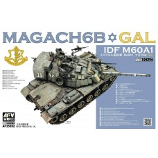 AFV Club 1/35 MAGACH 6B GAL Plastic Model Kit