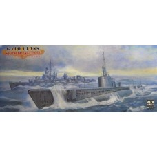 AFV Club 1:350 Gato Class Submarine 1942 Plastic Model Kit