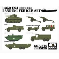 AFV Club 1/350 US Vehicle Set Plastic Model Kit