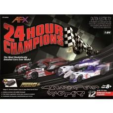 AFX 24 Hour Champions Electric HO Scale Slot Car Set 22004