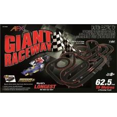 AFX Giant Raceway 2 Lane Electric HO Slot Car Set 22020