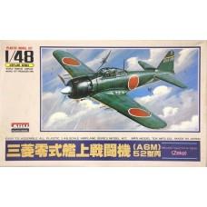 Arii 1/48 Type O Fighter Zeke Plastic Model Kit