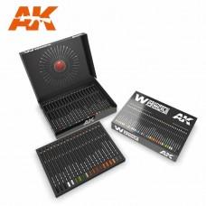 AK Interactive Weathering Pencils: Watercolor Deluxe Edition Box Set