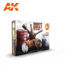 AK Interactive 3rd Gen Rust Paint Set
